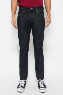 Celana Slim Fit Hitam Jeans Washed Pria