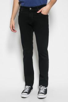 Slim Fit - Celana Jeans - Polos - Hitam
