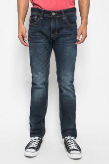 Celana Dark Blue Jeans Washed Pria