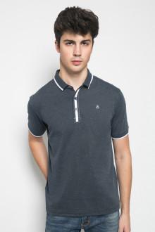 Slim Fit - Kaos Casual Active - Motif Polos - Abu