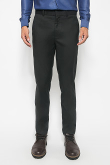 Slim Fit - Formal Pants - Polyester 932 - Hitam