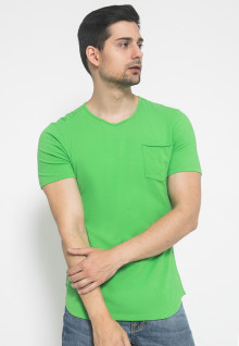 The One - Round Neck Kantong - Hijau