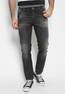 Celana Panjang Jeans - Warna Hitam - Slim Fit - Jeans