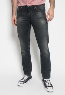 Celana Panjang Jeans - Warna Hitam - Slim Fit - Jeans Pria