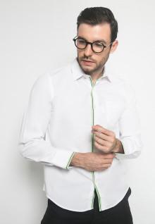 Kemeja Formal - Warna Putih - Lengan Panjang - Kemeja Panjang