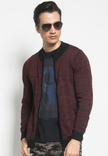 Sweater Active - Maroon - Bersaku