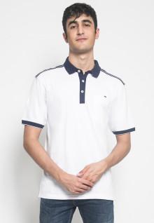 Kaos Polo - LGS - Polos Putih