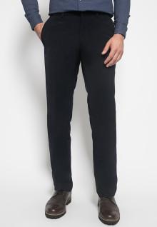 Celana Formal - Johnwin - Hitam Pekat