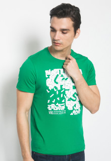 Kaos Youth Boy - Hijau - Sablon LGS Puzzle