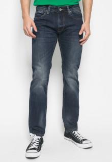 Jeans - Premium - Navy - Aksen Washed