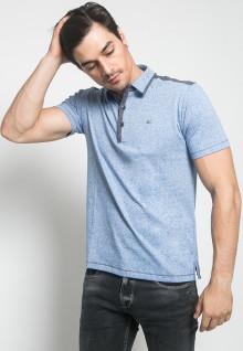 Kaos Polo - Jeans - LGS - Biru
