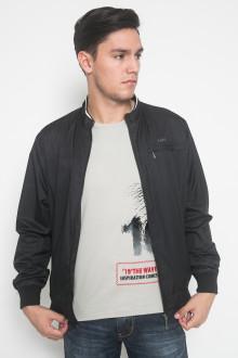 Jaket Casual - Hitam - Model Polos