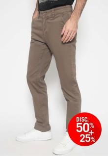 Celana Chinos - Celana Panjang - Polos - Coklat
