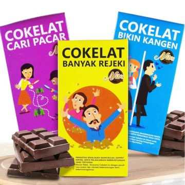 Cokelat Nibs - Coklat Kekinian image