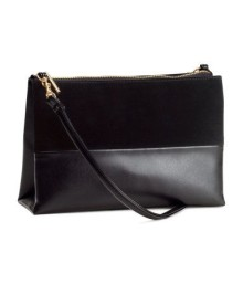 H&M suede leather sling bag