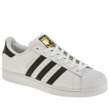 Adidas Superstar White with Black Stripes