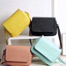 H&M box flap bag