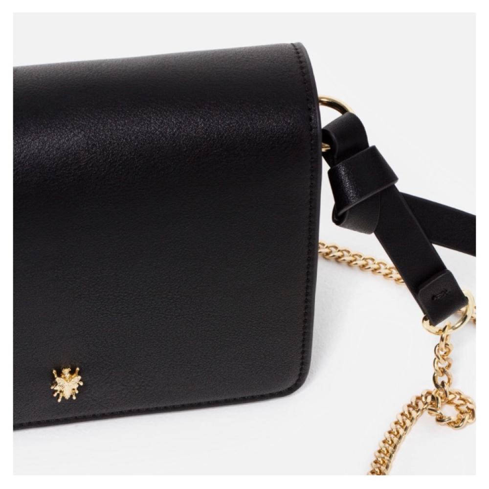2f4df1b832 Black Mini Crossbody Bag Zara