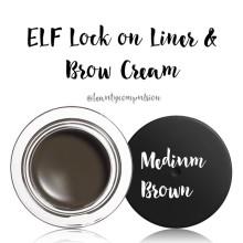 Elf Lock On Liner & Brow Cream
