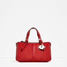 Zara bowling bag with handle detail