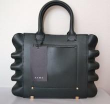 Zara ruffle handbag