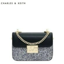 CK glitter sling bag