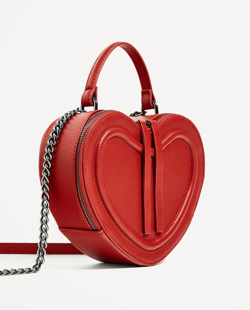 Zara Heart Crossbody Bag