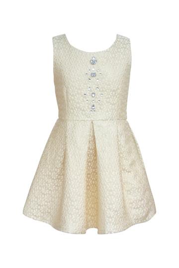 Kimberly Dress Gold