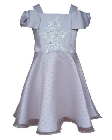 Kayla Silver Dress