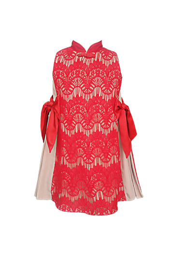 Magnificent Red Qipao