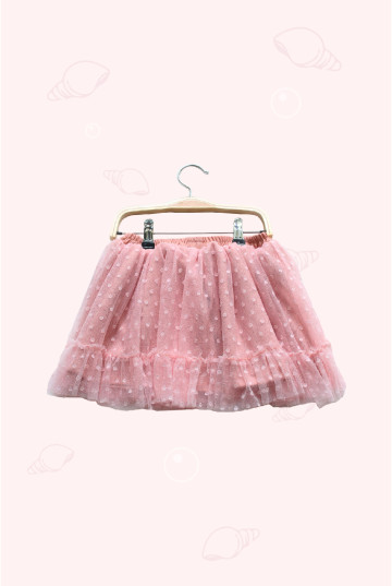 Calico Scallop Skirt