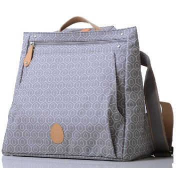 PacaPod Lewis 3-in-1 Diaper Bag Dove Tile