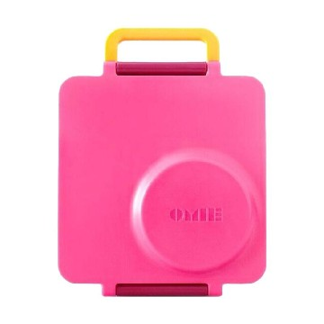 OmieBox Lunch Box - Pink Berry
