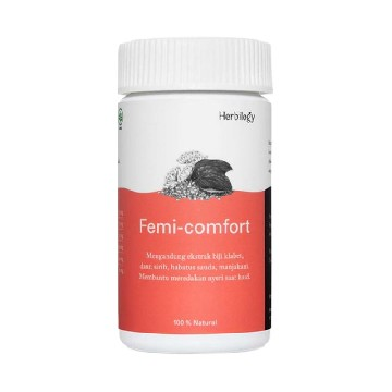 Herbilogy Femi Comfort Capsule for Menstrual Pain