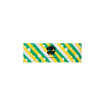 EMS Headband - Green Gold Stripes