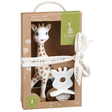 Sophie La Giraffe and So Pure Chewing Rubber Set