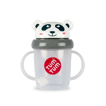 TUMTUM Tippy Up Sippy Cup - Panda