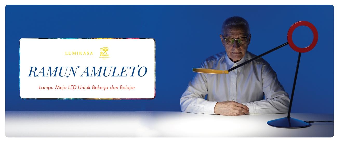 Ramun Amuleto, Lampu Meja LED Untuk Bekerja dan Belajar