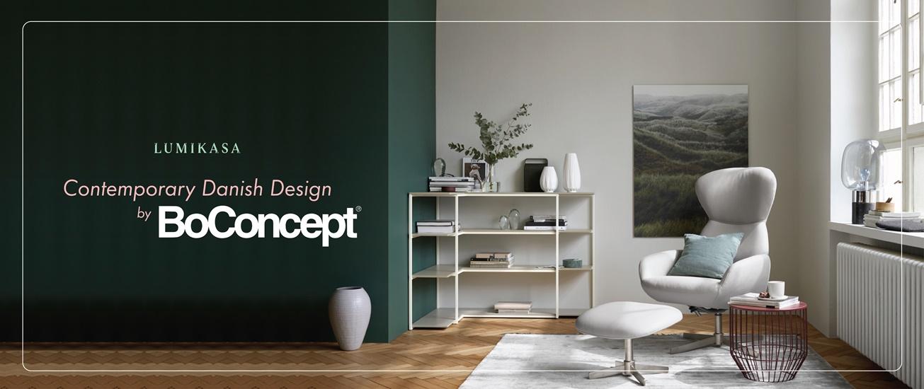 Contemporary Danish Design by BoConcept
