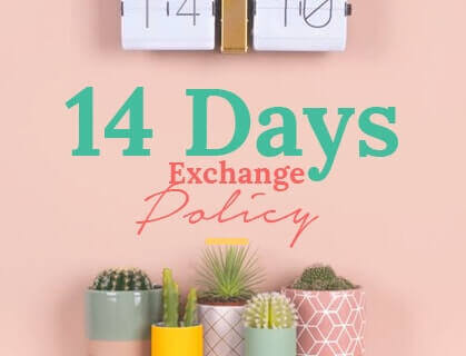 Lumikasa Exchange 14 days policy