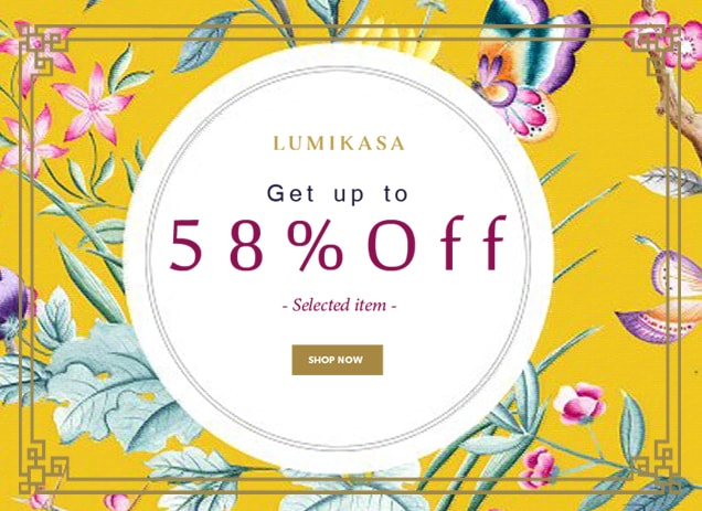 Lumikasa Chinese New Year Promotion : Get up to 58% Off