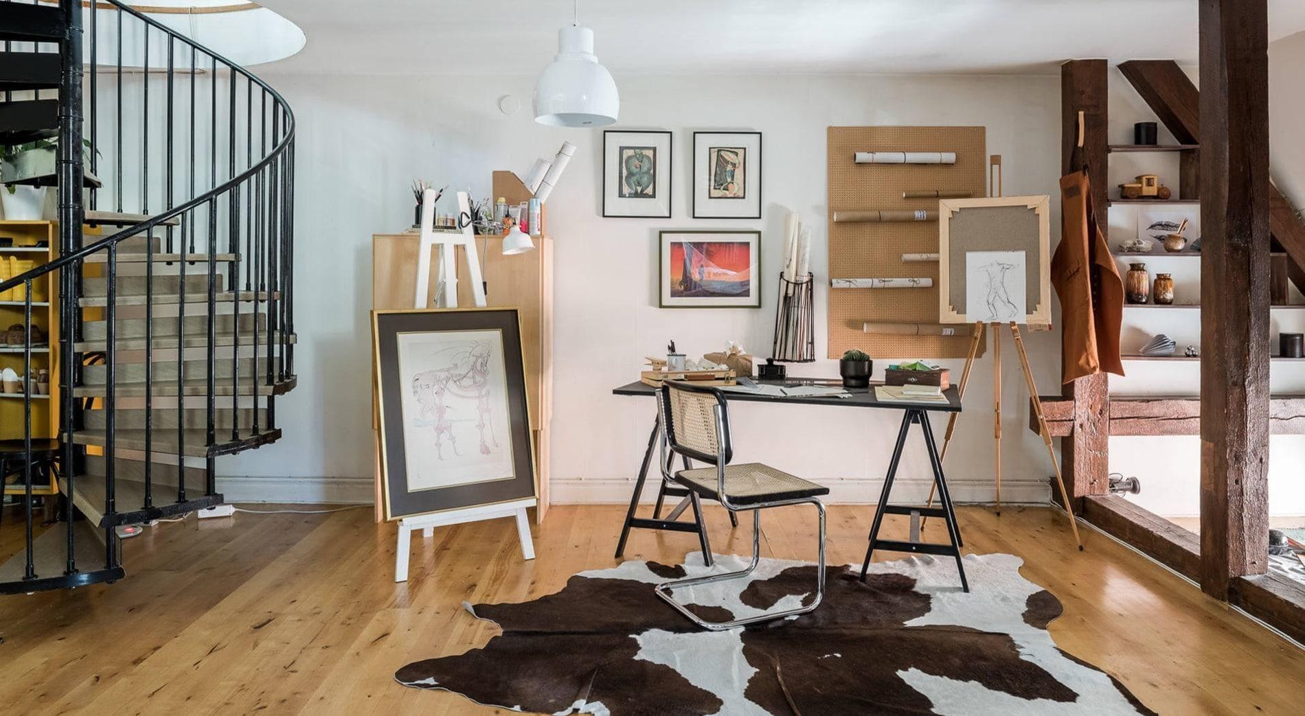 Desain Kantor Rustic