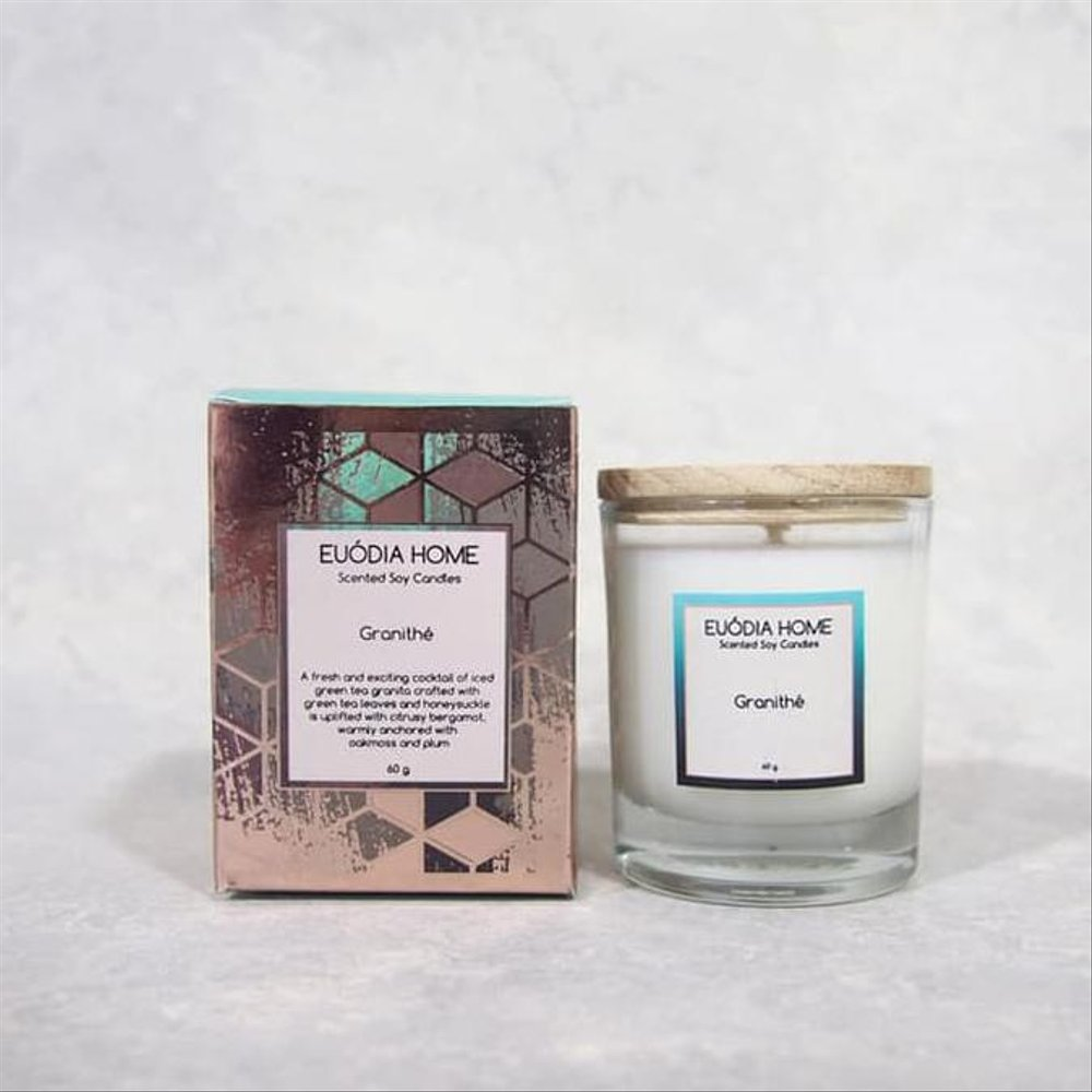 Euodia Home Granithe Travel soy Scented Candle