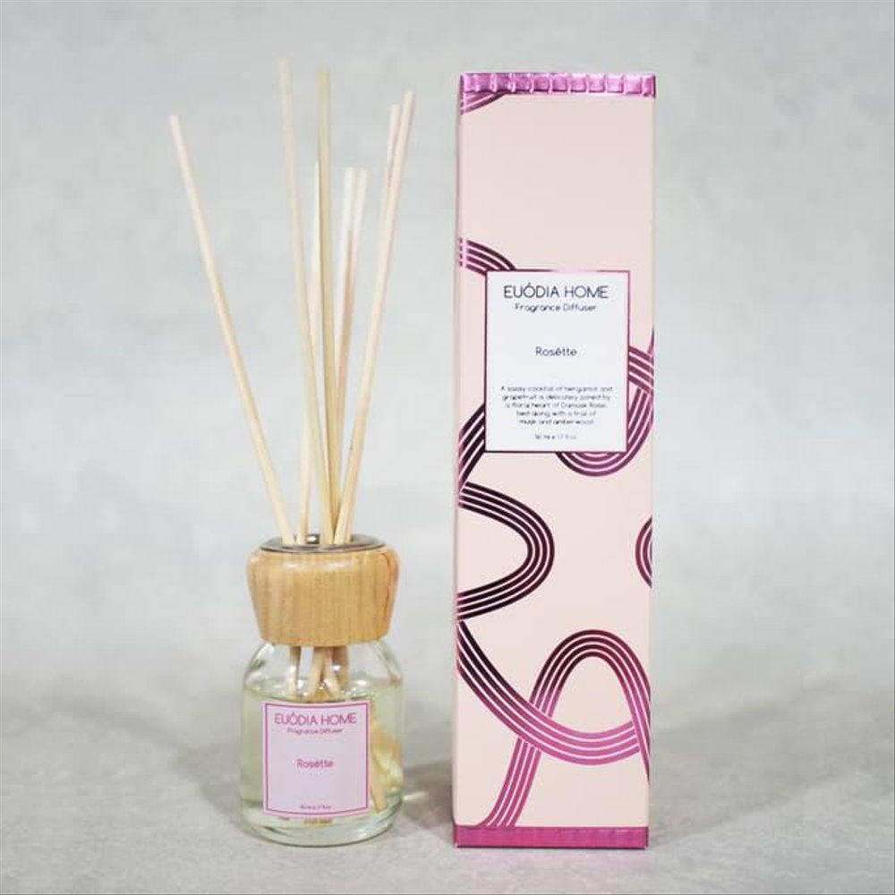 Euodia Home Rosette Fragrance Diffuser