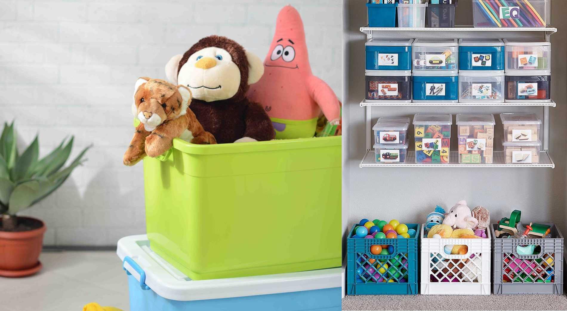 Gunakan Container Plastik