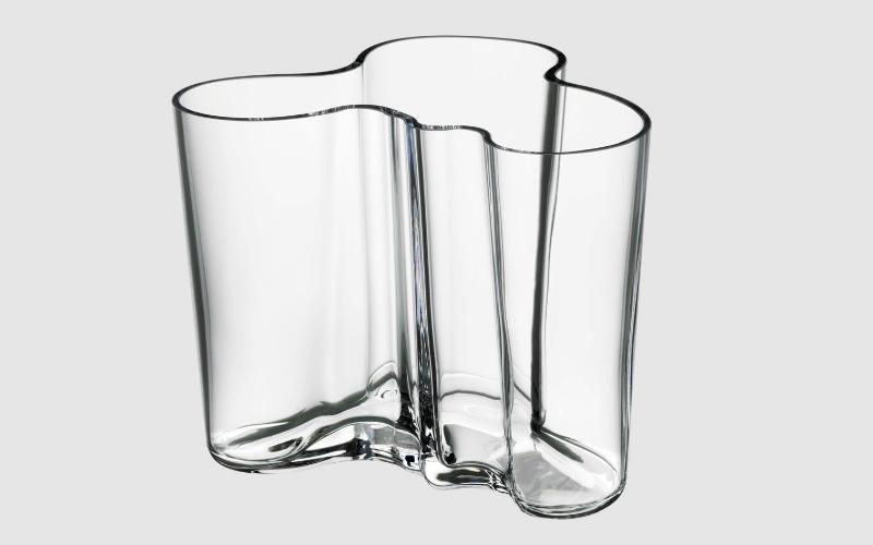 alto clear vase