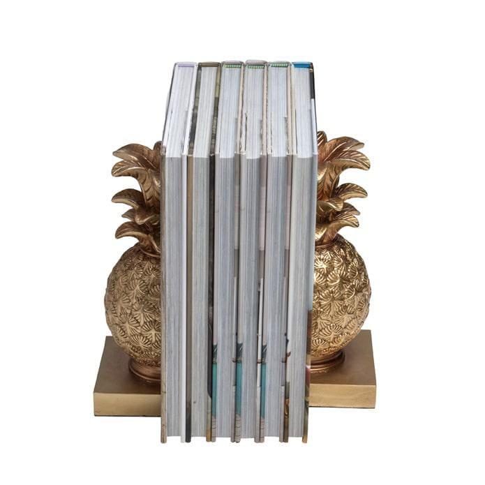 Lumikasa Bookends Pineapple Gold