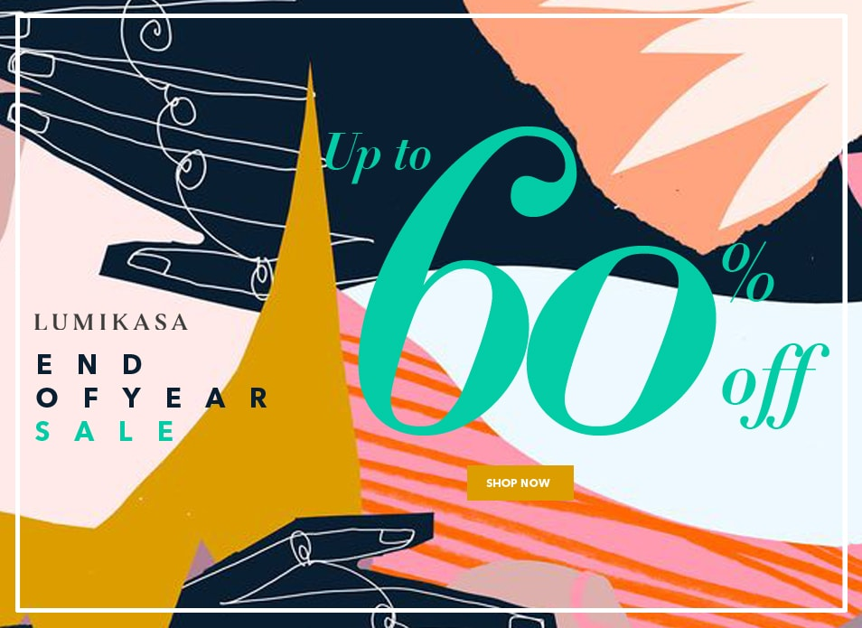 Lumikasa Year End Sale up to 60% Off