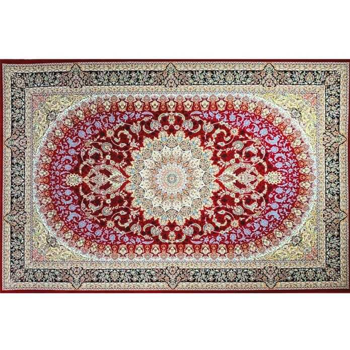 PASARGAD CLASSIC PERSIAN CARPET BLACK CYRA