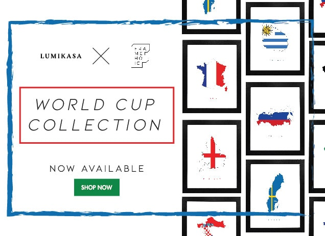 Lumikasa x Frameholic World Cup Collection